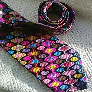 Rare Duchamp London Luxury Silk Tie